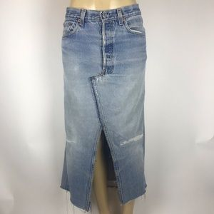 Levi's 313-437 Rufcut Used And Vintage Skirt